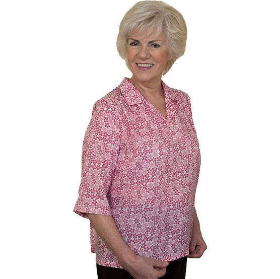 Silvert's Adaptive Open Back Blouse - Womens -23030