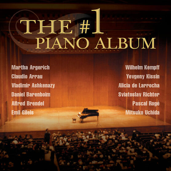 Various Artists - The #1 Piano Album - CD