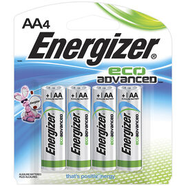 Energizer Eco Advance Battery - AA - 4 pack
