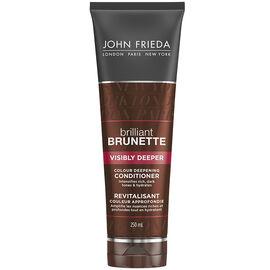 John Frieda Brilliant Brunette Visibly Deeper Conditioner - 250ml