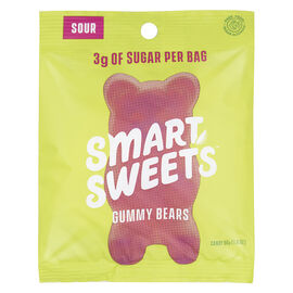 Smart Sweets Gummy Bears - Sour - 50g