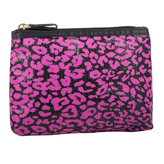 Modella Feline Cosmetic Bag - Pink - A006012LDC