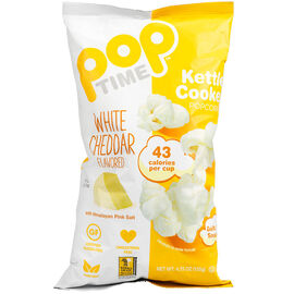 Pop Time Popcorn - White Cheddar - 135g