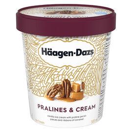 Haagen Dazs Praline & Cream Ice Cream - 500ml