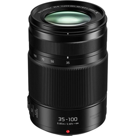 Panasonic G X VARIO 35-100mm F2.8 II ASPH. Lens - Black - HHSA35100