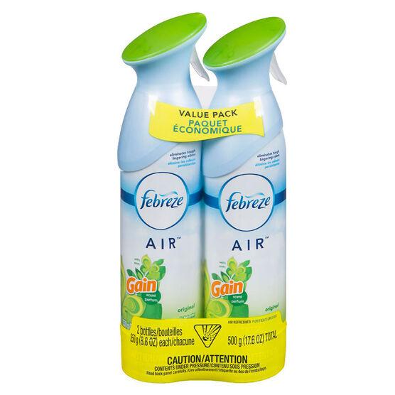 Febreze Air Effects Value Pack - Gain - 2 x 250g