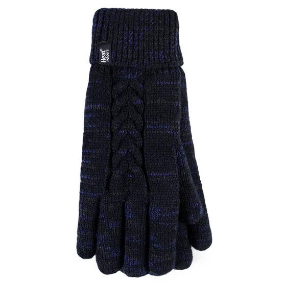 Heat Holders Ladies Gloves - Black Fleck - Large/XL