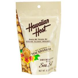 Hawaiian Host Macadamias  - Sea Salt - 127g