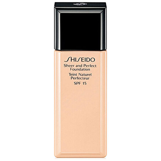 Shiseido Sheer and Perfect Foundation - O40 Natural Fair Ochre