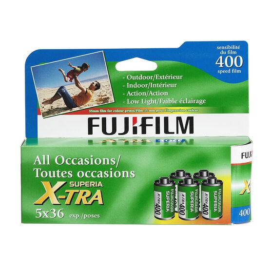 Fujicolor Superia X-TRA400 - 5x36 exp. - 600017862