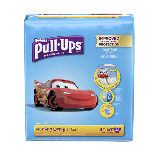 Pull-Ups Learning Designs Training Pants - Boys - Size 4T-5T - 32's