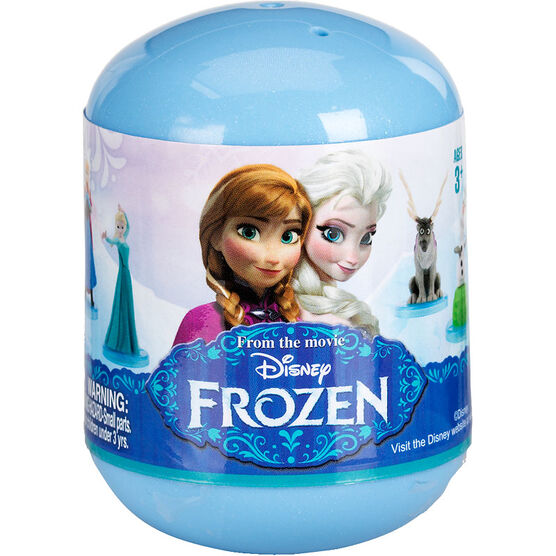 Disney Frozen Deluxe Mini Figurine in Frozen Capsule - Assorted