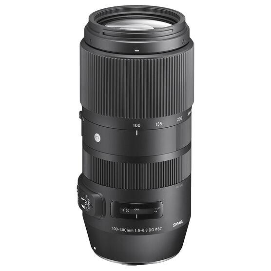 Sigma Contemporary 100-400mm F5-6.3 DG OS HSM Lens for Canon - COS1004DGC