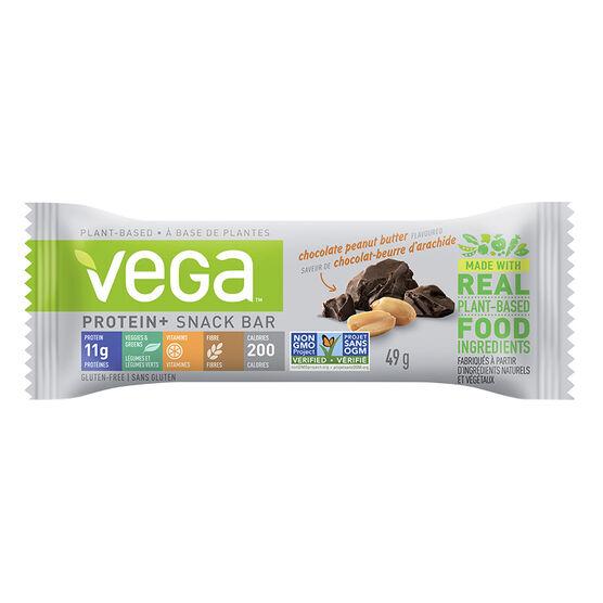 Vega Protein+ Snack Bar - Chocolate Peanut Butter - 49g