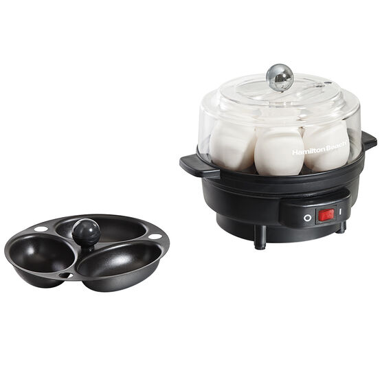 Hamilton Beach Egg Cooker - Black - 25500