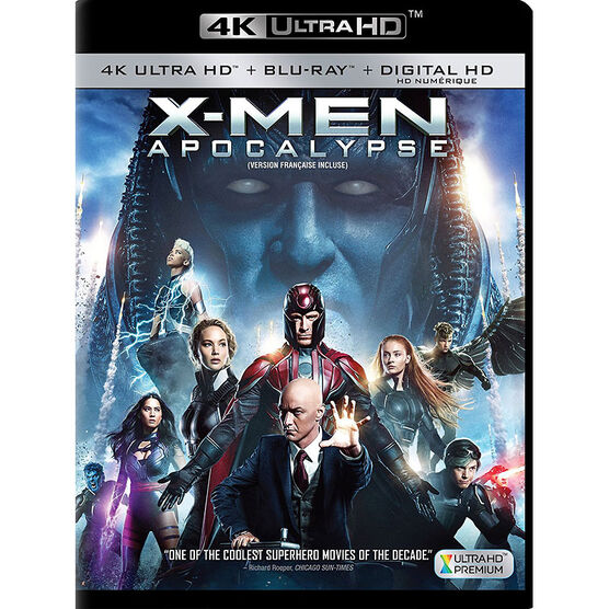 X-Men: Apocalypse - 4K UHD Blu-ray