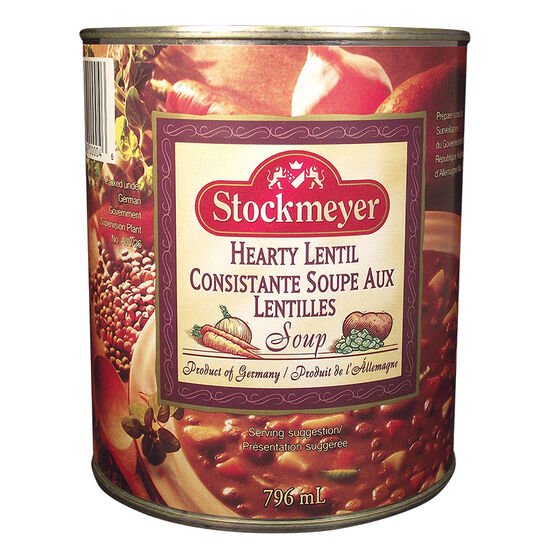 Stockmeyer Hearty Lentil - 796ml