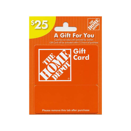 Home Depot Gift Card - $25