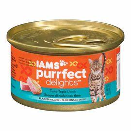 Iams Purrfect Delight Cat Food - Tuna-topia - 85g