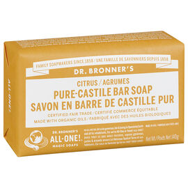 Dr. Bronner's Pure-Castile Bar Soap - Citrus - 140g