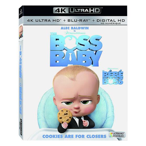 The Boss Baby - 4K UHD Blu-ray