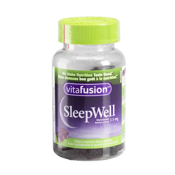 Vitafusion Sleep Well Melatonin - 2.5mg - 60's