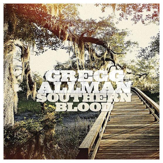 Gregg Allman - Southern Blood - Hardwood Coloured Vinyl