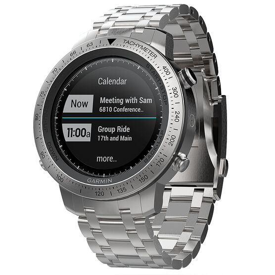 Garmin Fenix Chronos with Stainless Steel Band - 100195702