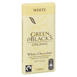 Green & Blacks - Organic White Chocolate - 100g