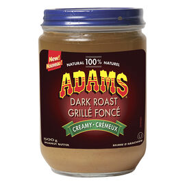 Adams Dark Roast Peanut Butter - Creamy - 500g