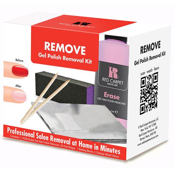 Red Carpet Manicure Remove Gel Nail Polish Removal Kit