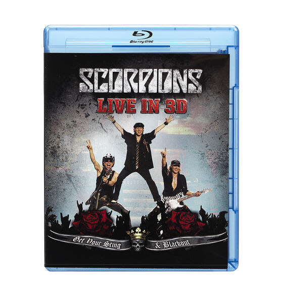 Scorpions - Get Your Sting and Blackout - Blu-ray