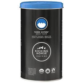 Kicking Horse Coffee - Three Sisters Medium Roast - Whole Bean - 350g Tin