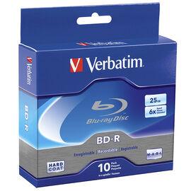 Verbatim BD-R 25GB 6x - 10 pack