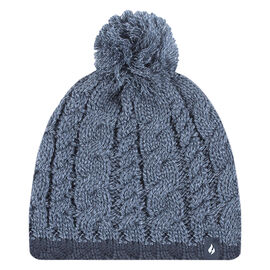 Heat Holders Boy's Cable Hat - Denim