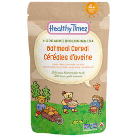Healthy Times Organic Baby Cereal - Oatmeal - 142g