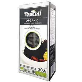 Tastell Organic Black Soybean Spaghetti - 200g