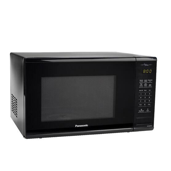 Panasonic 1.3 Cu.Ft. Genius Microwave - Black