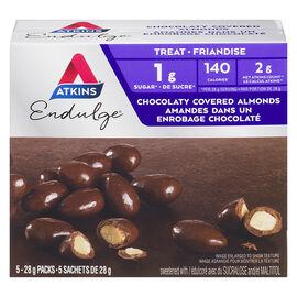 Atkins Endulge Chocolaty Covered Almonds - 5 x 28g