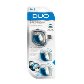 Duo USB New Car Airfresh - 3 pack