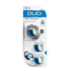 Duo USB New Car Airfresh - 3 pack