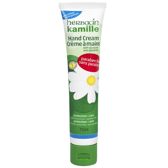 Herbacin Kamille Hand Cream - Unscented - 75ml