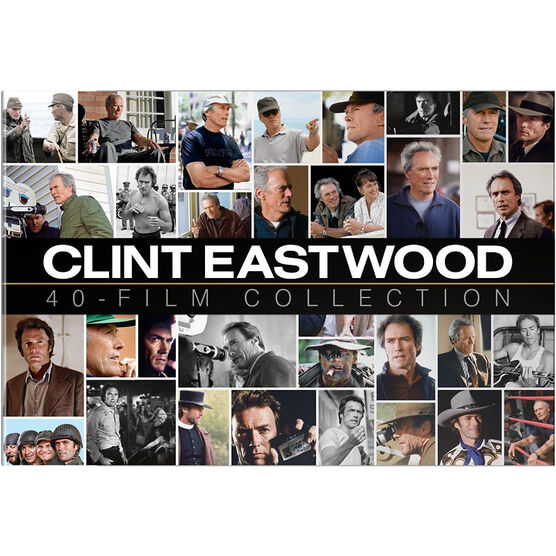 Clint Eastwood Collection 40 Film Box Set - DVD