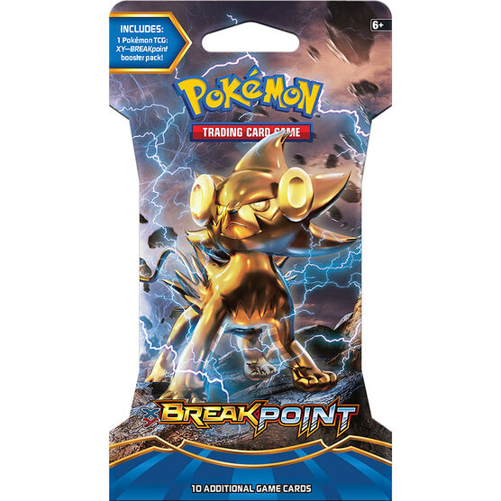 Pokémon XY8 Breakpoint Blister Pack - Assorted