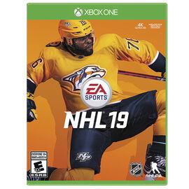 PRE ORDER: Xbox One NHL 19