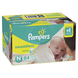 Pampers Swaddlers Diapers - Size 0 - 84's