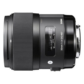 Sigma A 35mm F1.4 DG HSM Lens for Sony - A35DGSE
