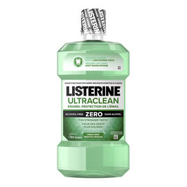 Listerine Ultraclean Enamel Protection Zero Antiseptic Mouthwash - Zero Alcohol - 1L