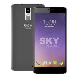 Sky Platinum 6 Unlocked Smartphone - Dark Grey - 60PPSDG1721