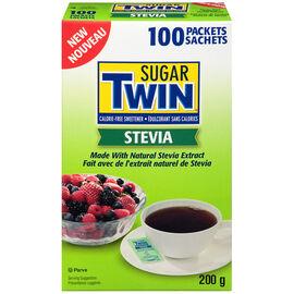 Sugar Twin Stevia Packets - 100's